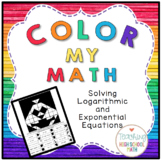 PreCalculus Color My Math Solving Exponential and Logarithmic Equations