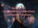PreCalculus: Combinations of Functions