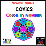 Conic Sections Color by Number