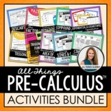 PreCalculus Curriculum: Activities Bundle