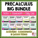 PreCalculus Curriculum Big Bundle (No SMART Board)