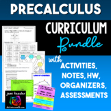 PreCalculus Curriculum Bundle