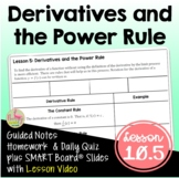 Derivatives and the Power Rule (PreCalculus - Unit 10)