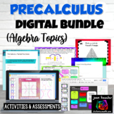 PreCalculus Digital Bundle for your Curriculum Distance Learning