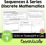Sequences & Series Essentials with Lesson Videos (Unit 9)