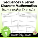 Sequences & Series Homework (Unit 9)