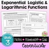 Exponential & Logarithmic Essentials (PreCalculus - Unit 3)