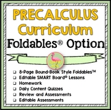 PreCalculus Curriculum Foldables™ Option (No Activities)