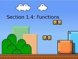 PreCalculus: Functions