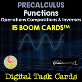 PreCalculus: Functions Operations Compositions and Inverse