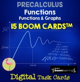 PreCalculus: Functions and Graphs BOOM Cards