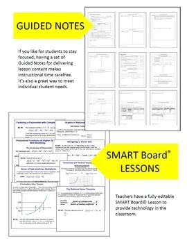 PreCalculus Guided Notes Option Curriculum