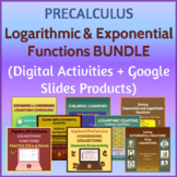 PreCalculus Logarithmic & Exponential Functions Digital Ac
