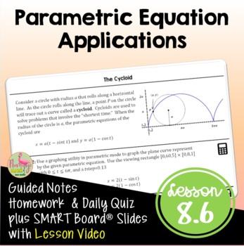 PreCalculus: Parametric Equations Applications