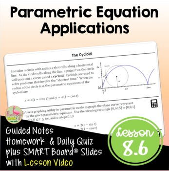 PreCalculus: Parametric Applications