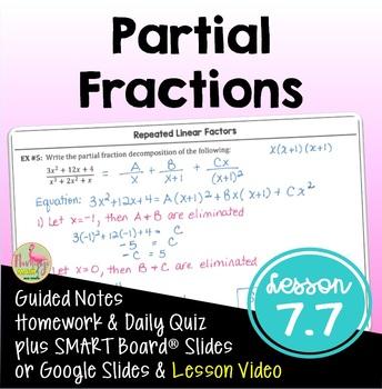 PreCalculus: Partial Fractions