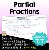 Partial Fractions (PreCalculus - Unit 7)