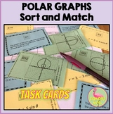 Polar Graphs Sort and Match Activity (PreCalculus - Unit 6)