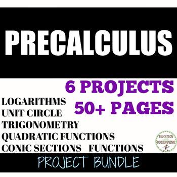 PreCalculus Project Bundle