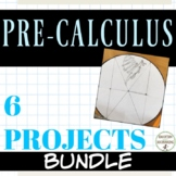 Pre Calculus Project Bundle