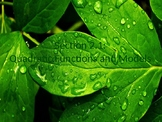 PreCalculus: Quadratic Functions and Models