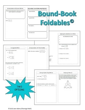 PreCalculus: Systems of Equations - Matrices