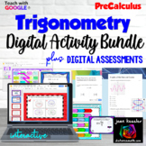 PreCalculus Trig Digital Activities Big Bundle for Google™