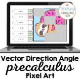 PreCalculus Vectors Direction Angle Pixel Art