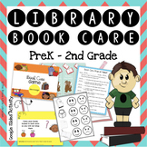 PreK-2nd Grade Library Book Care