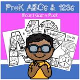 PreK ABCs & 123s Board Game Pack