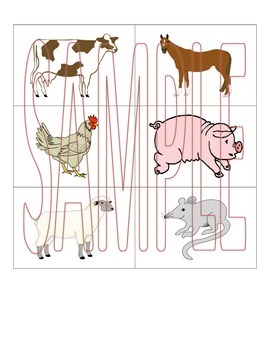 PreK Animal Thematic Unit