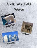 Arctic Animal Word Wall - Pictures First