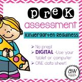 PreK Assessment - Simple Digital Version! - Kindergarten Readiness