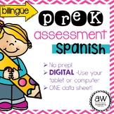 PreK Assessment SPANISH - Simple Digital Version! - Espano