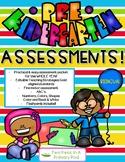Bilingual PreK/Preschool Assessment (Creative Curriculum) -Literacy & Numeracy!