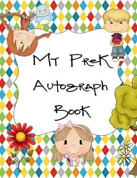 PreK Autograph Book