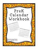 PreK Calendar Workbook - 2019-2020