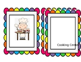 PreK Centers Labels/Tags
