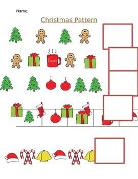 PreK Christmas Math