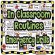 Visual Schedule & Center Labels ~Editable~ PreK Classroom