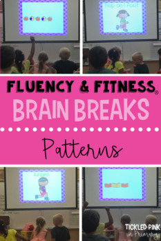 Pre-K Fluency & Fitness Brain Breaks Bundle