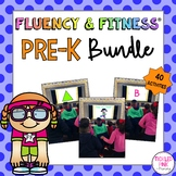 Pre-K Fluency & Fitness Brain Breaks Bundle