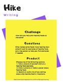 PreK - Grade 1 Challenge Tasks (Multiple Content Areas)