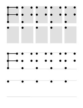 PreK Handwriting Practice
