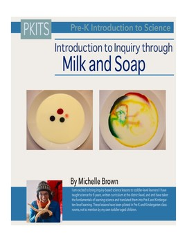 PreK Introduction to Science Lesson: Milk and Soap