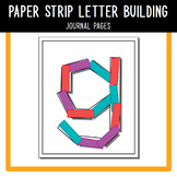 PreK Journal Pack - Paper Strip Letter Tracing A to Z