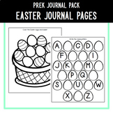 PreK Journal Pack - Easter Themed Journal Pages