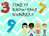 PreK, K, 1st Counting  and writing numbers task cards