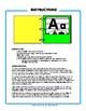 Alphabet Pocket Book for PreK-K - Template Kit