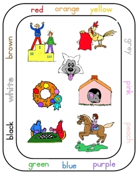 PreK-K Color Cards